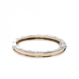 Bvlgari B.Zero1 Steel & 18k Yellow Gold Bracelet