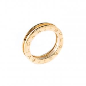 Bvlgari B.Zero1 1-Band 18k Yellow Gold Band Ring Size 53