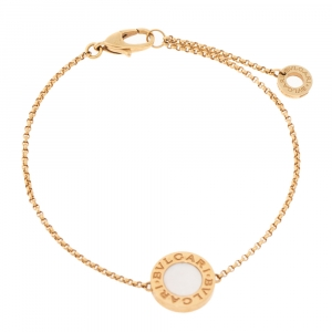 Bvlgari Mother of Pearl 18K Rose Gold Bracelet SM