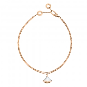 Bvlgari Divas' Dream Mother of Pearl 18K Rose Gold Bracelet ML