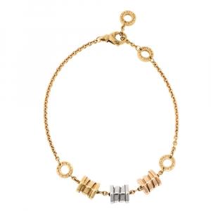 Bvlgari Tricolor B.Zero1 18K Gold Bracelet