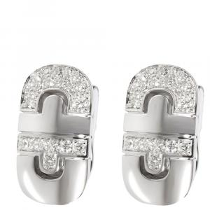 Bvlgari 18K 0.75 CTW Diamond Parentesi Earrings