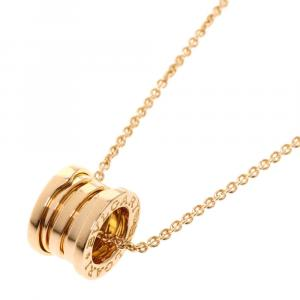 Bvlgari 18K Pink Gold B.zero1 Necklace
