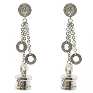 Bvlgari B.Zero1 Diamond and White Gold Dangle Earrings
