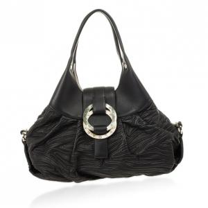 Bvlgari Black Chandra Shoulder Bag