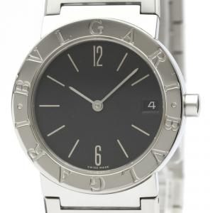 Bvlgari Black Stainless Steel Bvlgari Bvlgari BB30SSD Women's Wristwatch 30MM