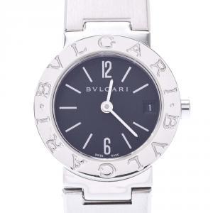 Bvlgari Black Stainless Steel Bvlgari Bvlgari BB23SS Women's Wristwatch 23MM