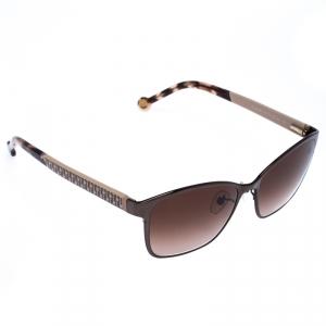 Carolina Herrera Brown/Beige Gradient SHE067 Square Sunglasses