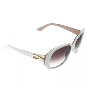 Cartier Beige/Brown Gradient Solaire Oversize Sunglasses
