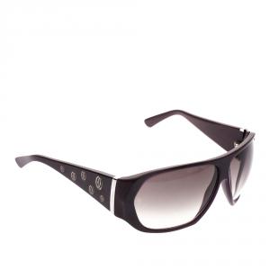 Cartier Purple/Black Gradient Oversized Sunglasses