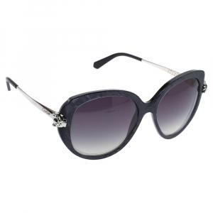 Cartier Charcoal/Grey Gradient Panthère Wild de Cartier Sunglasses