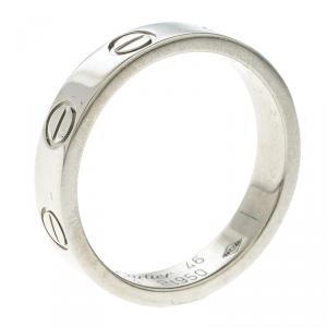 Cartier Love Platinum Wedding Band Size 46