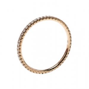 Cartier Étincelle de Cartier Diamond 18k Rose Gold Eternity Wedding Band Ring