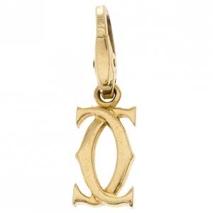 Cartier C De Cartier 18 K Yellow Gold Charm