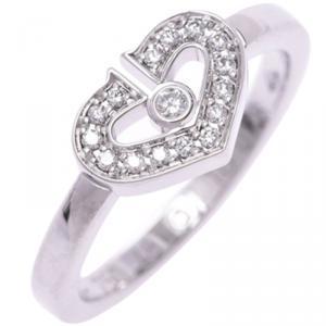 Cartier Heart of Cartier Diamond Ring Size 48