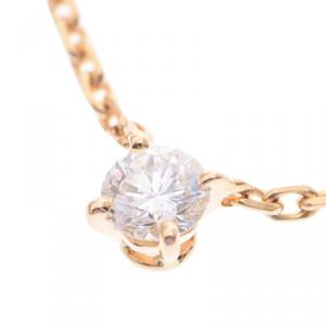 Cartier Love 18K Yellow Gold Diamond Necklace