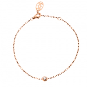 Cartier Diamants Legers de Cartier Diamond 18k Rose Gold Bracelet