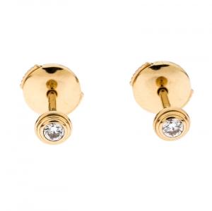 Cartier Diamants Légers 18K Yellow Gold Diamonds XS Earrings