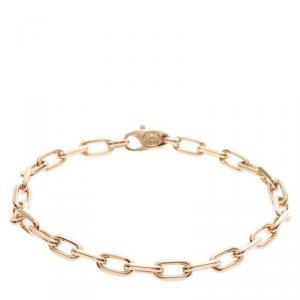 Cartier Spartacus 18K Yellow Gold Link Bracelet 17 CM