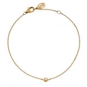 Cartier Diamants Legers de Cartier Diamond 18k Yellow Gold Bracelet