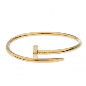 Cartier Juste Un Clou 18k Yellow Gold Bracelet 16cm
