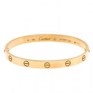 Cartier Love 18K Rose Gold Bracelet 18