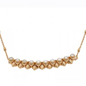 Cartier Clash De Cartier Rose Gold Diamond Necklace