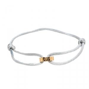 Cartier Love 18K Rose Gold Grey Cord Adjustable Bracelet
