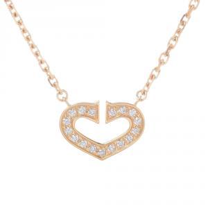 Cartier Heart of Cartier Diamonds 18K Yellow Gold Pendant Necklace