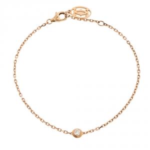 Cartier Diamants Legers de Cartier Diamond 18K Rose Gold Bracelet