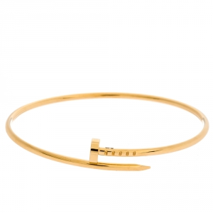 Cartier Juste Un Clou 18K Yellow Gold SM Bracelet 18