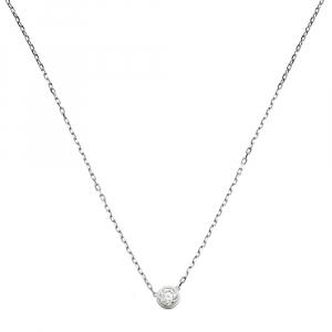 Cartier Diamants Légers Diamond 18K White Gold Necklace