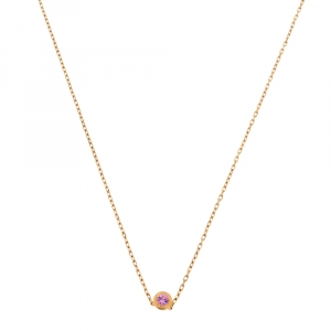 Cartier Saphirs Legers Sapphire 18K Rose Gold Necklace