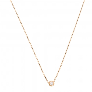 Cartier Diamants Legers Diamond 18K Rose Gold Necklace