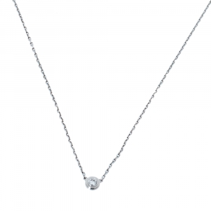 Cartier Diamants Légers Diamond 18K White Gold Necklace XS