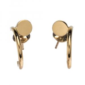 Cartier Juste Un Clou 18K Yellow Gold Hoop Earrings