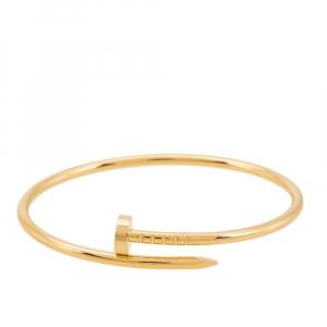 Cartier Juste Un Clou 18K Yellow Gold Bracelet 15