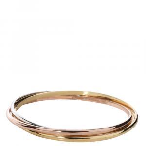 Cartier Trinity 18K 3 Tone Gold  Bracelet