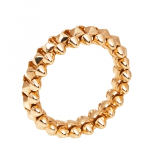 Cartier Clash de Cartier 18K Rose Gold Ring Size 52