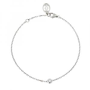 Cartier Diamants Legers De Cartier Diamond 18K White Gold Bracelet SM