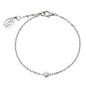 Cartier Diamants Légers de Cartier Diamond 18K White Gold Bracelet SM