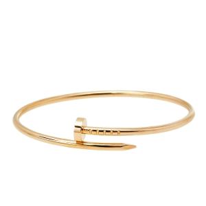 Cartier  Juste Un Clou 18K Rose Gold Bracelet SM 16