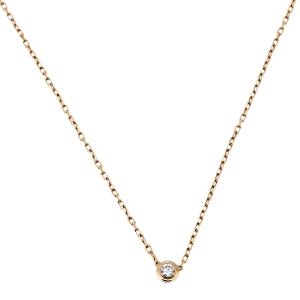Cartier Diamants Legers 18K Rose Gold Necklace SM