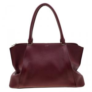 Cartier Red Taurillon Leather Medium C De Cartier Bag