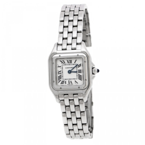 Cartier Panthere de Cartier White Stainless Steel Women's Wristwatch 22mm