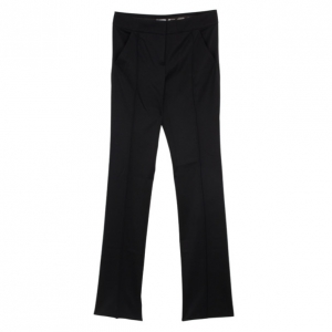 Celine Black Wool Trousers M