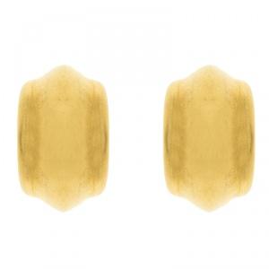 Celine Vermeil Gold Tone Hoop Earrings