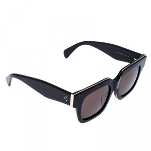 نظارة شمسية سيلين مربعة CL 41097/S رمادية/ سوداء