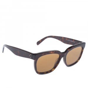 Celine Brown Havana/ Brown CL41057/S Radical Square Sunglasses