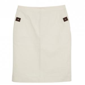 Celine Beige A-line Skirt M
